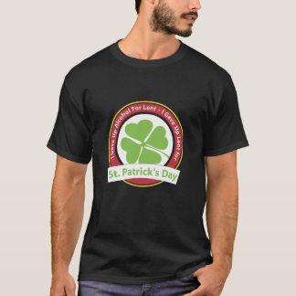 T-shirt J'ai abandonné prêté pour le jour de St Patrick