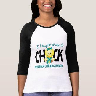 T-shirt J'ai combattu comme un survivant de Cancer ovarien