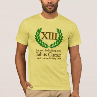 T-shirt J'ai croisé le Rubicon avec Jules César