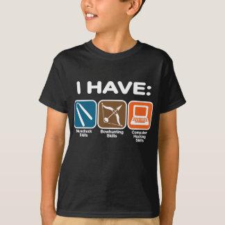 T-shirt J'ai des qualifications Napoleon Dynamite