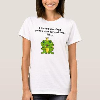T-shirt J'ai embrassé le prince de grenouille et ai tourné