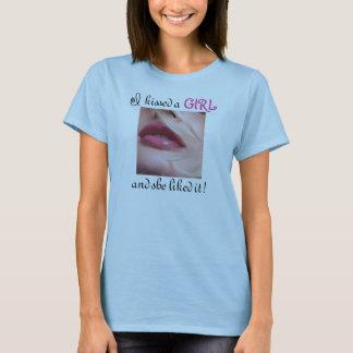 T-shirt J'ai embrassé une fille !