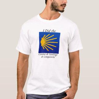 T-shirt J'ai fait le Camino De