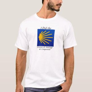 T-shirt J'ai fait le Camino De Santiago