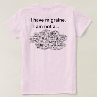 T-shirt J'ai la migraine