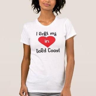 T-shirt J'ai laissé mon coeur en Gold Coast