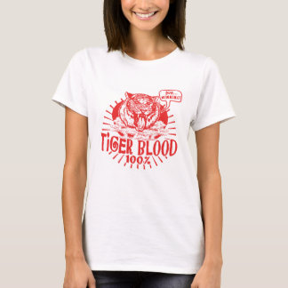 T-shirt J'ai le sang de tigre