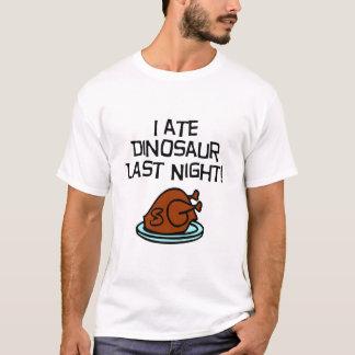 T-shirt J'ai mangé le dinosaure