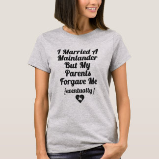 T-shirt J'ai marié un habitant du continent
