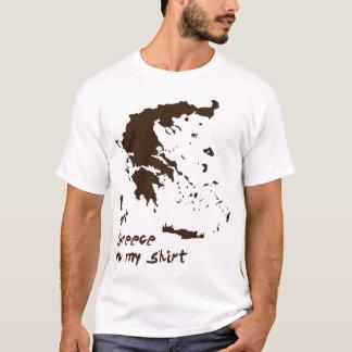 T-shirt J'ai obtenu la graisse de la Grèce sur ma chemise