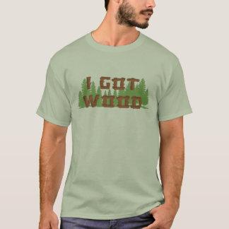 T-shirt J'ai obtenu le bois - des morts