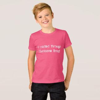 T-shirt J'ai pataugé par le bloc de police d'amusement