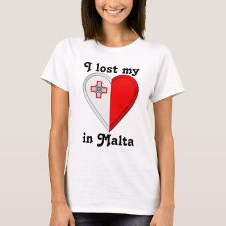 T-shirt J'ai perdu mon coeur à Malte