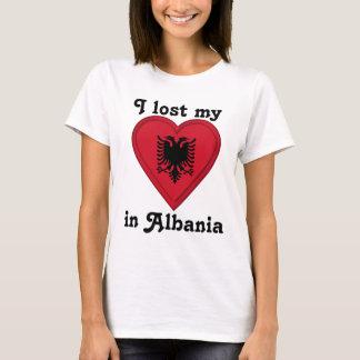 T-shirt J'ai perdu mon coeur en Albanie