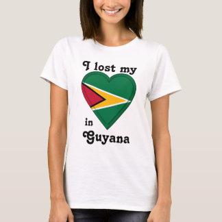 T-shirt J'ai perdu mon coeur en Guyane