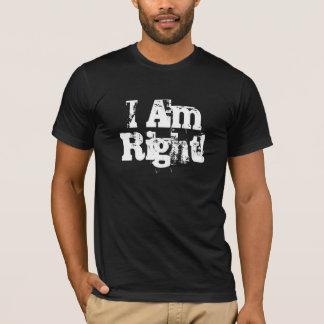 T-shirt J'ai raison !