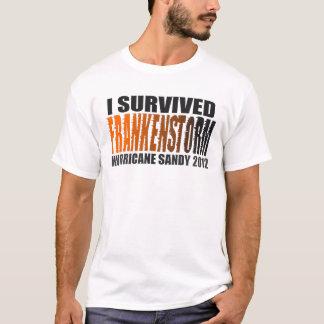 T-shirt J'ai survécu à la chemise 2012 de Sandy d'ouragan