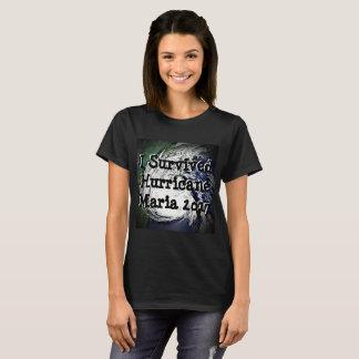 T-shirt J'ai survécu à la chemise de Maria d'ouragan