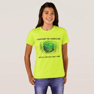 T-shirt J'ai survécu à l'ouragan