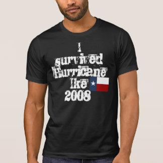 T-shirt J'ai survécu à l'ouragan Ike2008