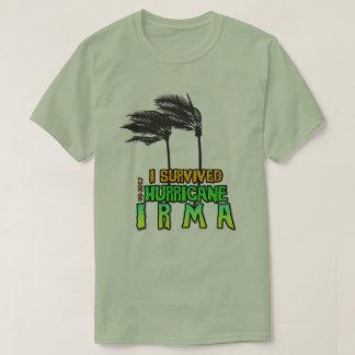 T-shirt J'ai survécu à l'ouragan Irma