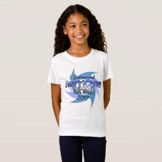 T-Shirt J'ai survécu à l'ouragan IRMA 2017