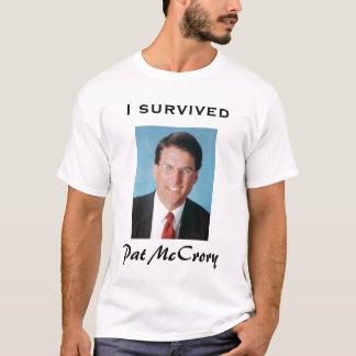 T-shirt J'ai survécu à Pat McCrory