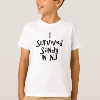 T-shirt J'ai survécu à Sandy dans NJ.png