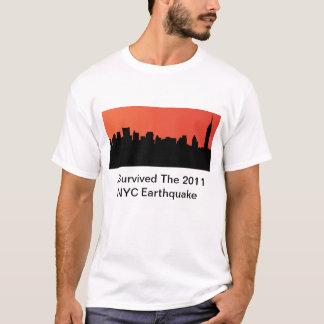 T-shirt J'ai survécu au tremblement de terre de 2011 NYC