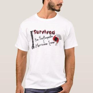 T-shirt J'ai survécu au tremblement de terre et à