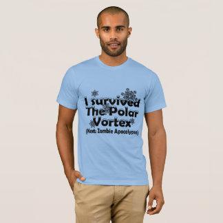 T-shirt J'ai survécu au vortex polaire !