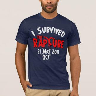 T-shirt J'ai survécu enchantement au 21 octobre