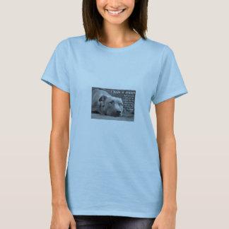 """T-shirt """"J'ai"""" un bébé rêveur de pitbull - la poupée T"""