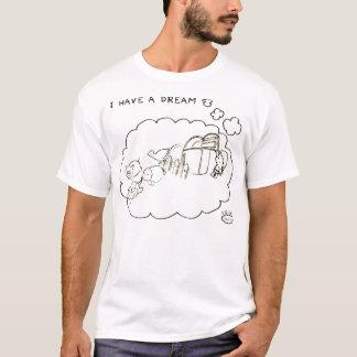T-shirt J'ai un rêve : liberté animale !