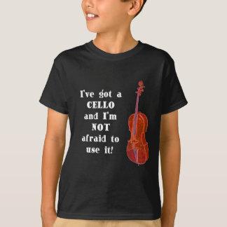 T-shirt J'ai un violoncelle