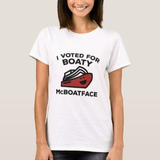 T-shirt J'ai voté pour Boaty McBoatface