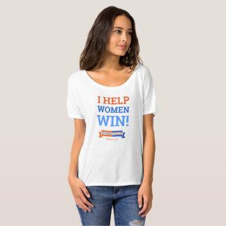 T-shirt J'aide la victoire de femmes !