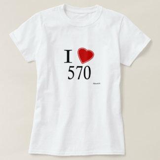 T-shirt J'aime 570 Scranton
