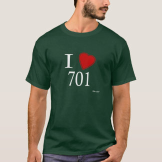 T-shirt J'aime 701 Bismarck