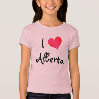 T-shirt J'aime Alberta