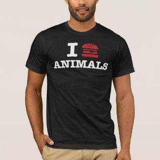 T-shirt j'aime animals2