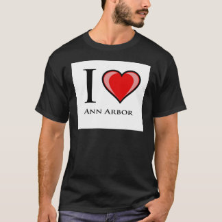 T-shirt J'aime Ann Arbor
