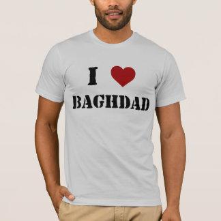 """T-shirt J'aime Bagdad """"pièce en t """""""