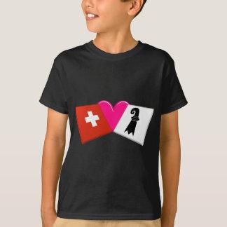 T-shirt J'aime Bâle-Stadt