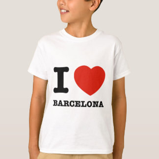 T-shirt J'aime Barcelone