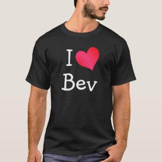 T-shirt J'aime Bev