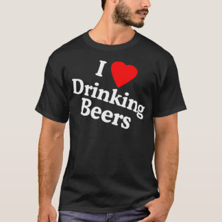 T-shirt J'aime boire des bières