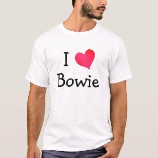 T-shirt J'aime Bowie