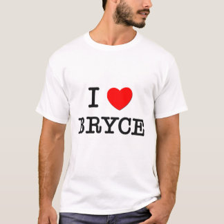 T-shirt J'aime Bryce