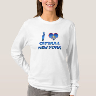 T-shirt J'aime Catskill, New York